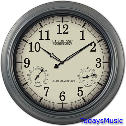 Wt 3181p 18 Quot Atomic Wall Clock For Outdoor Pool Patio