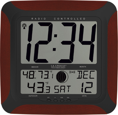 digital atomic wall clock by lacrosse technology ws 8248u ch
