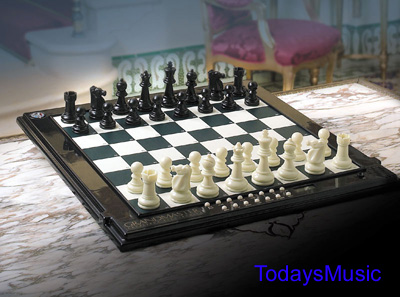 Grandmaster official tournament sized electronic chess computer